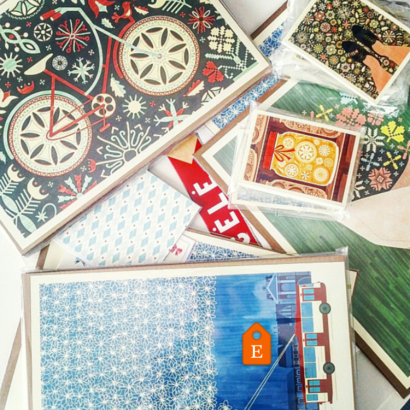 Kata Kiosk ETSY artprints postcards made in Lithuania
